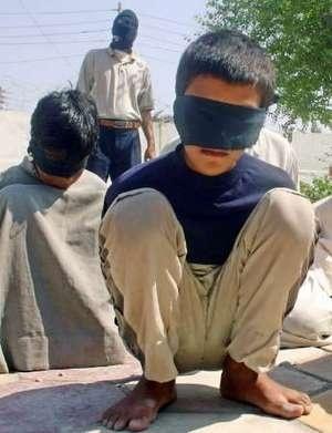 Irak'ta Çocuk mahkumlara tecavüz