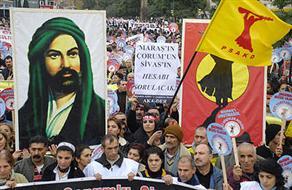 Maraş Katliamı'nın Aydınlatılmasını İsteyen Aleviler Sokağa Çıktı