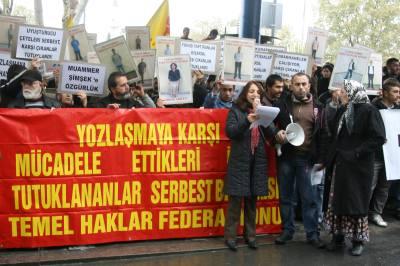 Temel Haklar Federasyonu tutuklanan üyeleri için Beşiktaş'daydı
