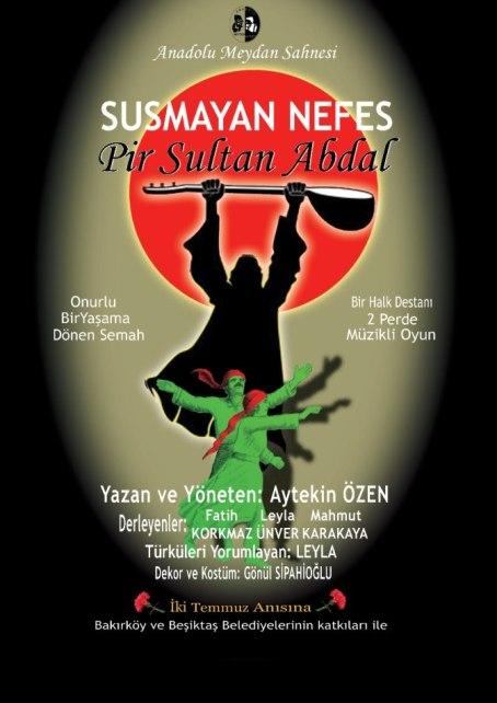 'Pir Sultan' Nevşehir'de
