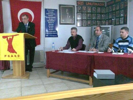 PSAKD Kadıköy Şubesi 7.Olağan Genel Kurulu Yapıldı