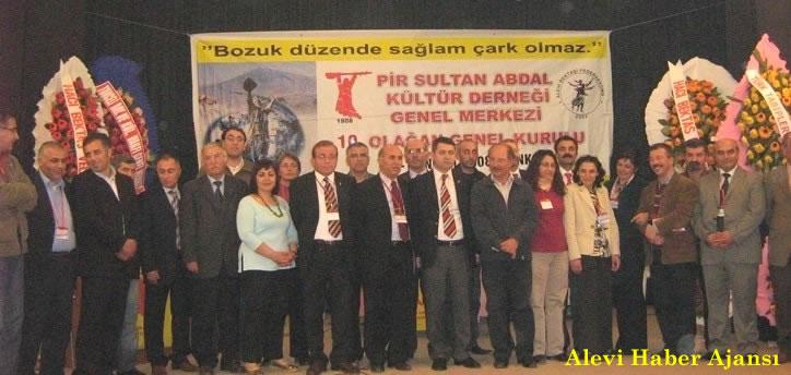 Pir Sultan Abdal Kültür Derneği'nin Yeni Genel Başkanı Fevzi Gümüş