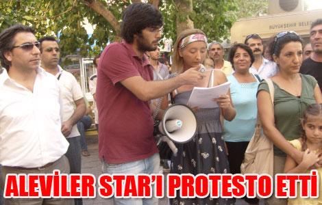 Aleviler Antalya'da Star'ı Protesto Etti