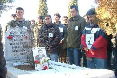 Ümit Cihan Tarho mezarı başında anıldı
