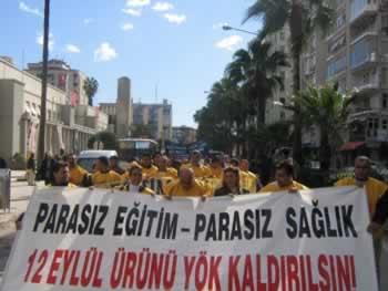 YÖK yurt çapında protesto edildi
